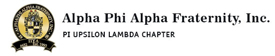 Alpha Phi Alpha Fraternity Inc. – Pi Upsilon Lambda Chapter