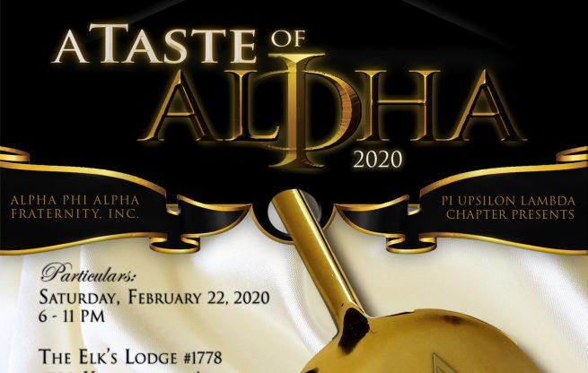 A Taste of Alpha 2020
