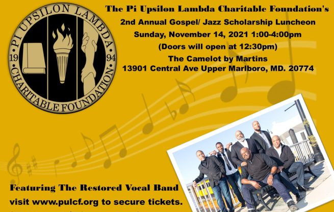 PULCF 2nd Annual Gospel and Jazz Scholarship Luncheon